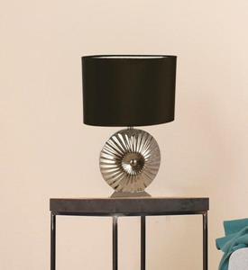 Lámpara de Mesa de Noche 1L negra
