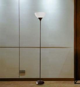 Lámpara de piso una luz