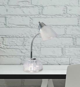 Lámpara de Escritorio 1L juvenil transparente
