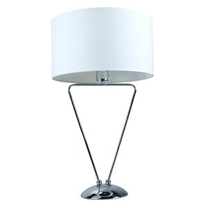 Lámpara de mesa cromo
