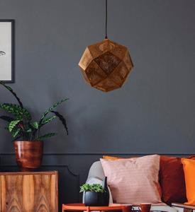 Lámpara de techo 1 luz acero inoxidable