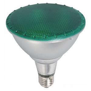 Imagen de Bombillo LED PAR 38 luz verde