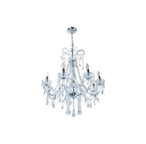 Lámpara colgante de Cristal 8L