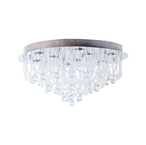 Lámpara colgante de cristal 9 luces