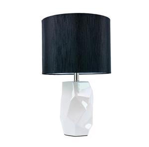 Lámpara de mesa una luz cerámica