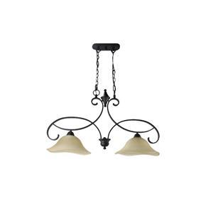 Lámpara colgante 2 luces