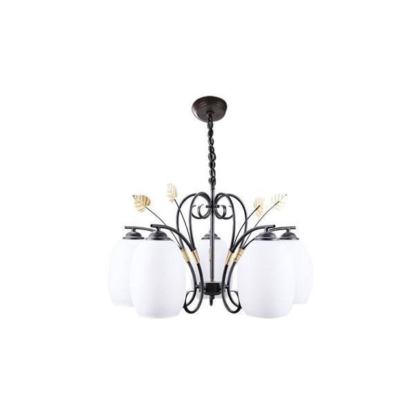 Lámpara colgante 5 luces