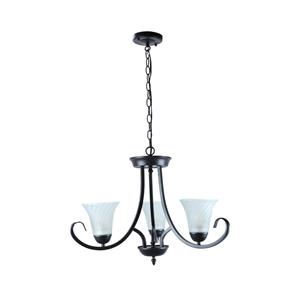 Lámpara colgante de 3 luces