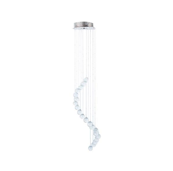 Lámpara de cristal colgante