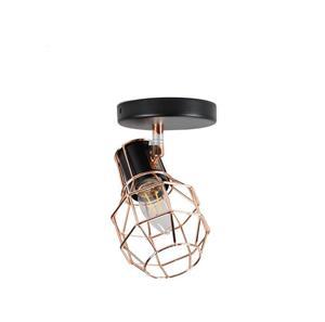 Lámpara dirigible de una luz