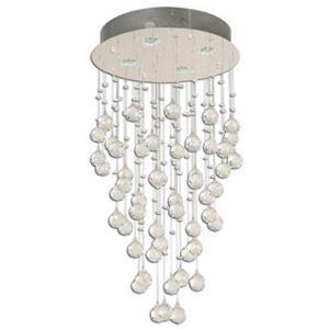 Lámpara colgante de cristal 4 luces