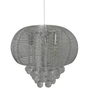Lámpara colgante de cristal 3 luces