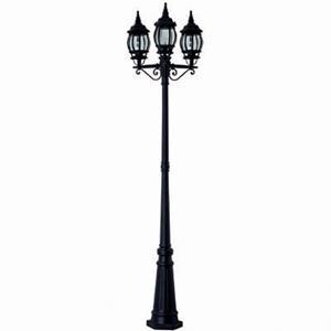 Imagen de Lámpara de Piso QUERONEA 3L negro (ext. 100w)