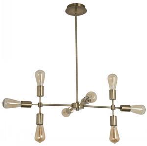 Imagen de Lámpara colgante MONSTER LAMP 8L bronce