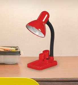 Imagen de Lámpara de Escritorio 1L rojo (con lapicero)