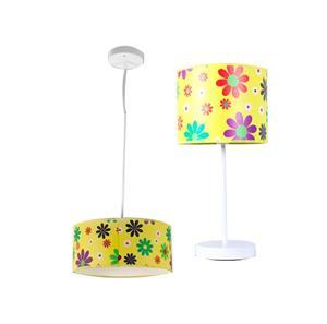 Lámpara de mesa y techo