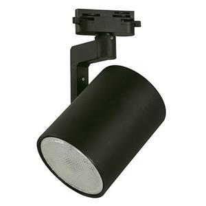 Lámpara dirigible de riel techo 12w