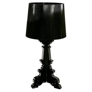 Lámpara de mesa una luz negro