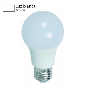 bombillo luz blanca