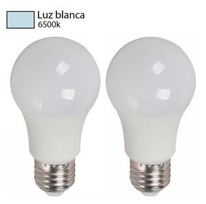 bombillos luz blanca 2 pack