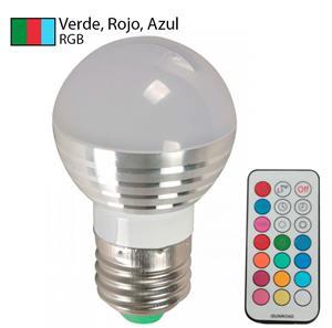Imagen de Bombillo LED G45 (multicolor) RGB