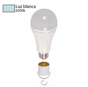 Bombillo led luz blanca A60