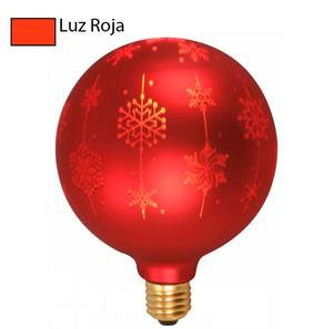 Bombillo Led de Navidad luz roja