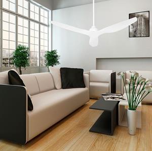 Abanico de techo 3 aspas blanco