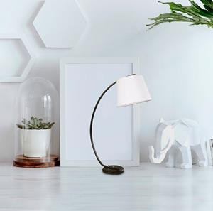 Lámpara de mesa una luz