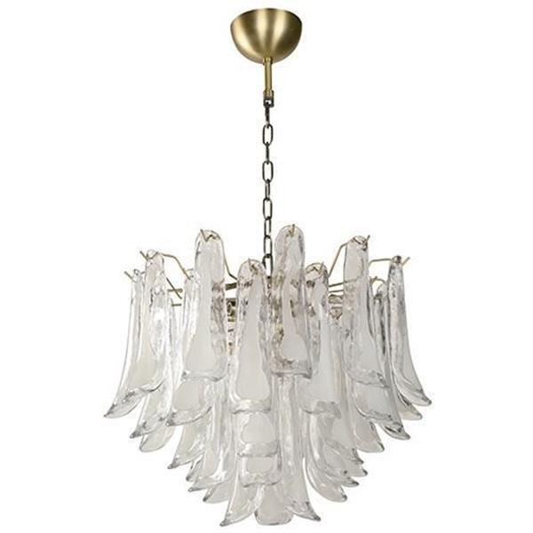 Lámpara Colgante de Cristal 6L