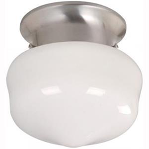 Imagen de LAMP. TECHO NIQUEL SATINADO 1L E27 60W