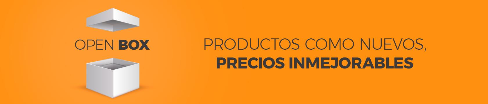 Productos Open Boxes