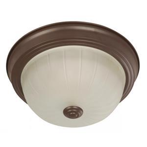 Imagen de LAMP. TECHO CHOCOLATE 1L E27 60W 2PZAS
