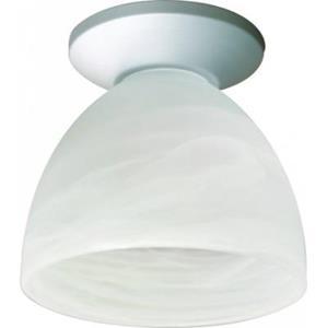 Imagen de LAMP. TECHO E27*1L*60W (N/B) ACAB PLATEADO