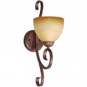 Imagen de LAMP. PARED E27*1L*60W (N/B) ACAB. MARRON
