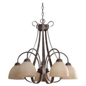 Imagen de LAMP. TECHO PLATEADO 5L E27 60W