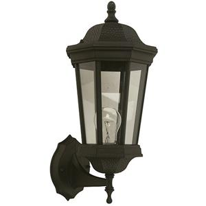 Imagen de LAMP. EXT. PARED NEGRO 1L E27 100W