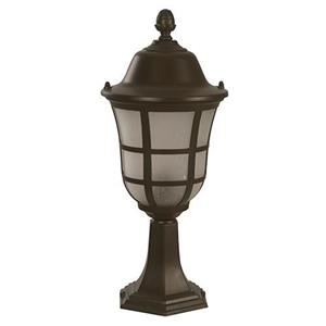 Imagen de LAMP. EXT. MURO CHOCOLATE 1L E27 100W