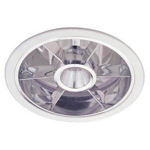 "Imagen de LAMP. TECHO.9"" E27*2L 20W MAX.(N/B)ACAB.BLANCO"