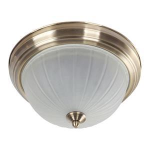Imagen de LAMP. TECHO*2LTS*120V*60HZ*E27*60W*(B/N)*ACAB. BRONCE ANTIGUO