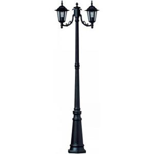 Imagen de LAMP. EXT. POSTE NEGRO 2L E27 100W