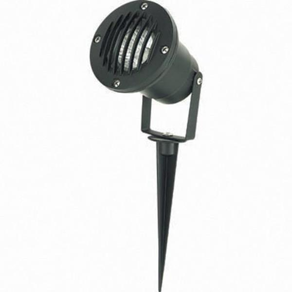 Lámpara de Piso Exterior negro 1L