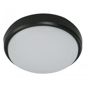 Imagen de LAMP. LED EXT. TECHO NEGRO 1L 12W 85-265V 6500K