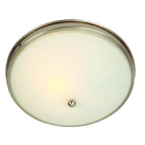Imagen de LAMP. DE TECHO 1 LUZ*E27*60W*ACAB. NIQUEL SATINADO