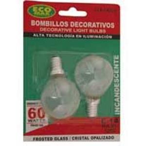 Imagen de Bombillo Inc. BOLA 2700k (2 pack)