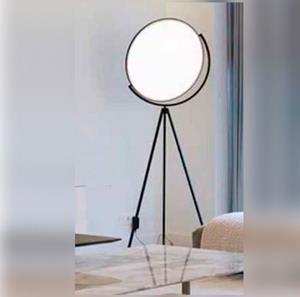 Imagen de Lámpara de Piso Led negro 20w