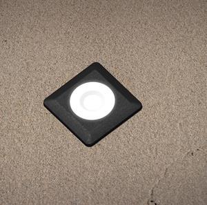 Imagen de Lámpara Empotrable de Piso Aldo Square black
