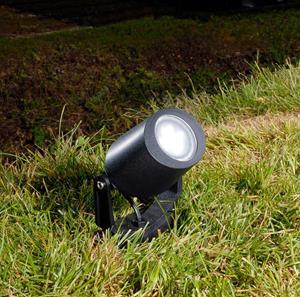 Lámpara de piso jardín led estaca