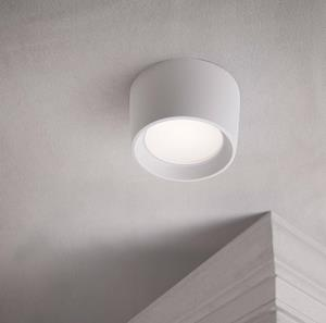 Lámpara de techo led blanca
