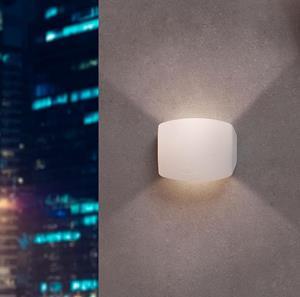 Lámpara de pared led blanco fum
